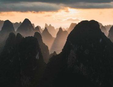 Karst Mountains - by Tom Franklin de Waart