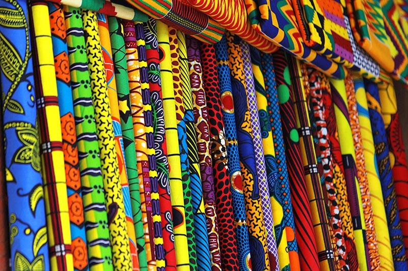 Kente Cloth in Ghana