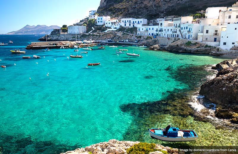 Levanzo Island Trapani Sicily