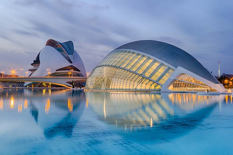 Valencia City of Arts and Sciences, Spain