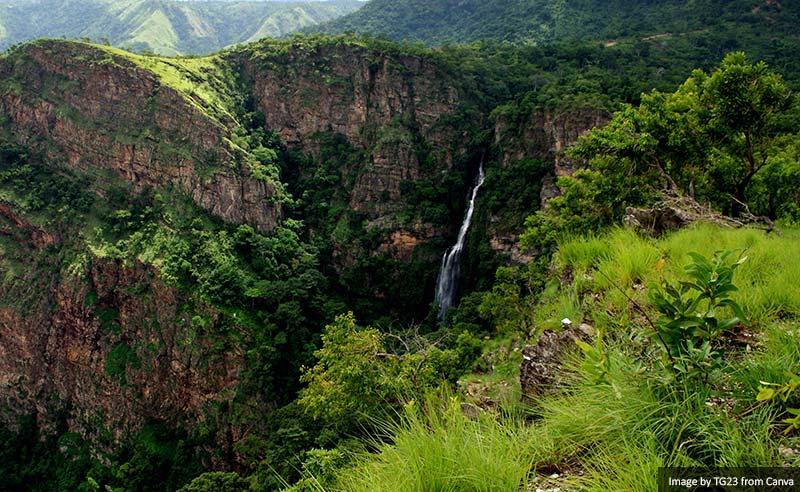 Waterfall Ghana (Volta Region)