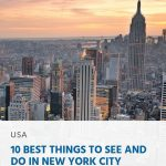 10 Best Things to See and Do in New York City