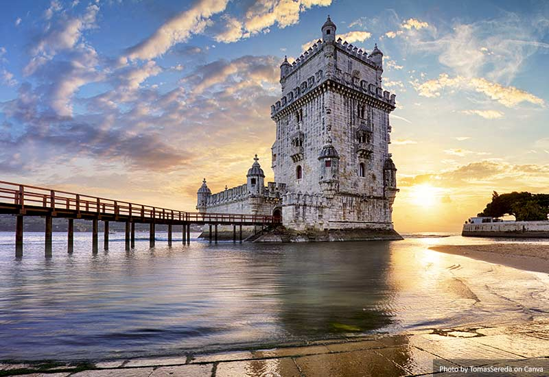 Belem Tower - Tagus River