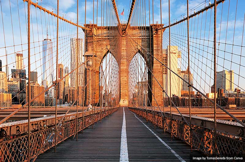 Brooklyn Bridge, New York City Manhattan