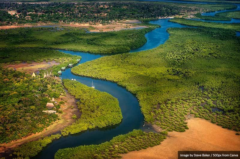 Река Гамбия 10 лучших мест для посещения в Сенегале и Гамбии 10 лучших мест для посещения в Сенегале и Гамбии Gambia River