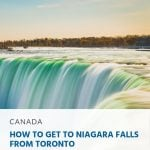 How to Get to Niagara Falls from Toronto