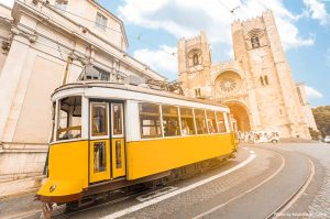 Lisbon and trams