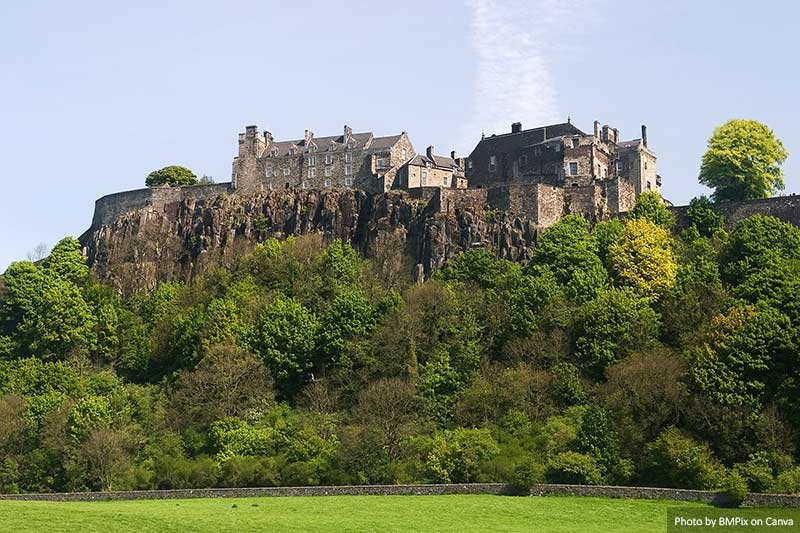 Magnificent Stirling Castle