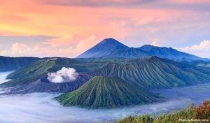 Mount Bromo - natural wonders