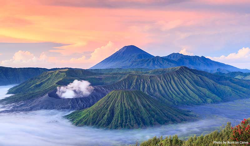 Mount Bromo - natural wonders