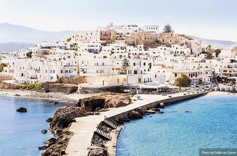 Наксос  5 тропических мест, которые  должны посетить пара влюбленных Naxos
