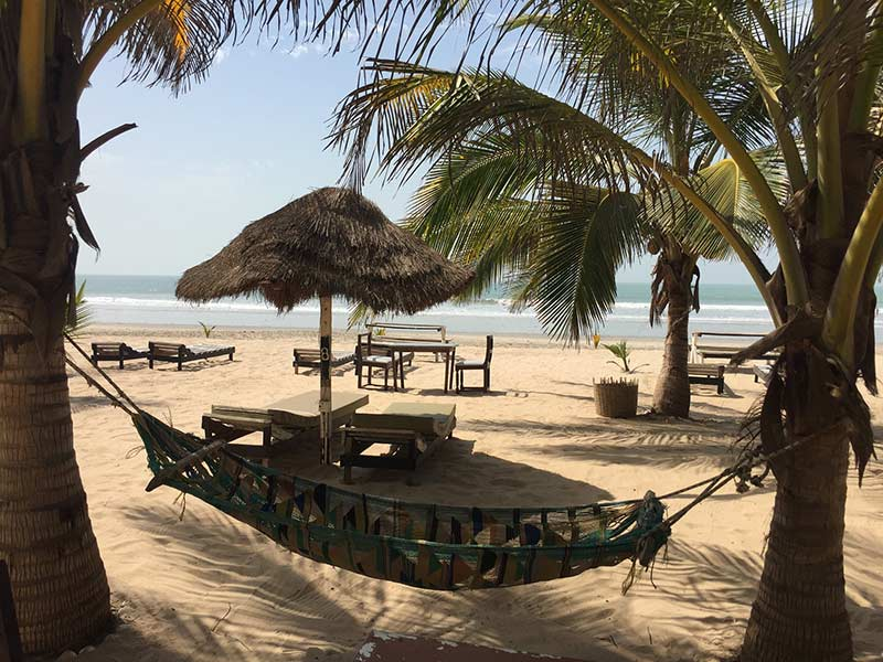 Paradise Beach, Sanyang, The Gambia, photo by Tjeerd Wiersma