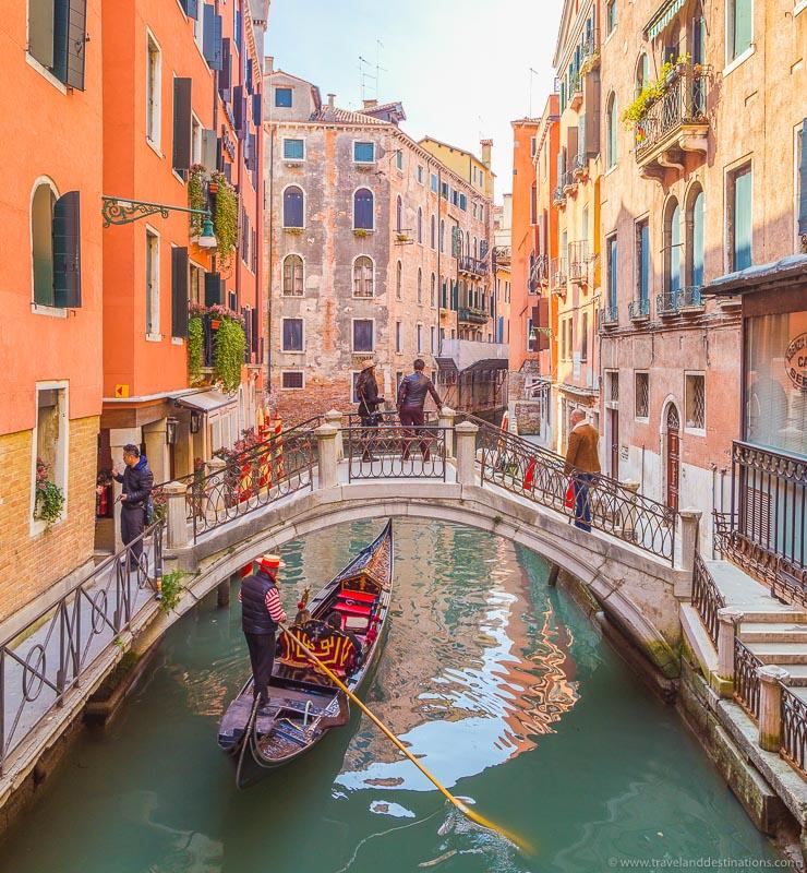 Venice and Gondola rides
