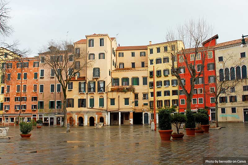 Venice new jewish ghetto