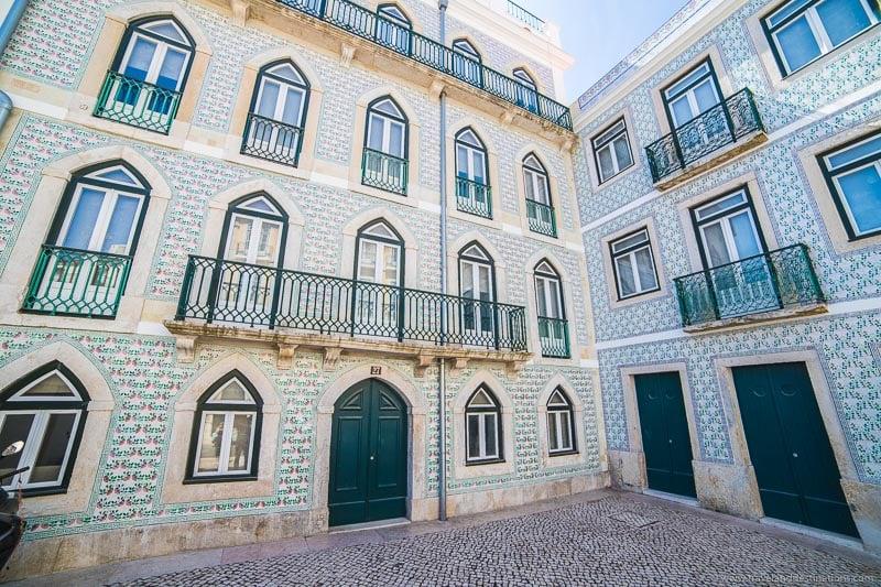 Architecture in Alfama, Lisbon