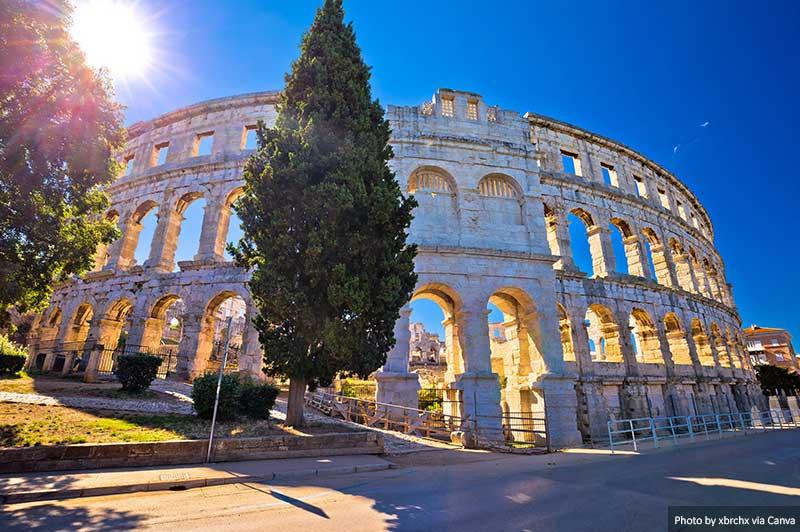 Римский амфитеатр Арена Пула, Хорватия посещения в Хорватии 10 лучших мест для посещения в Хорватии Arena Pula Roman amphitheater Croatia
