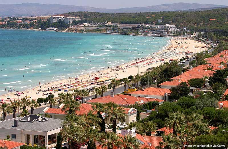 Beaches in Cesme