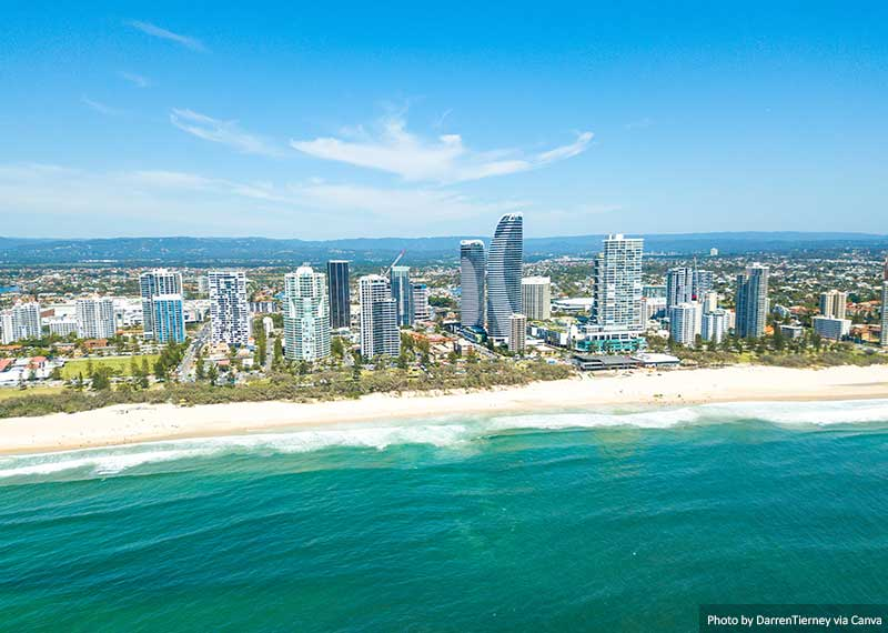 Broadbeach on the Gold Coast