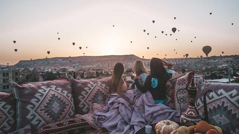 Каппадокия на рассвете 10 лучших мест для посещения в Турции 10 лучших мест для посещения в Турции Cappadocia at sunrise