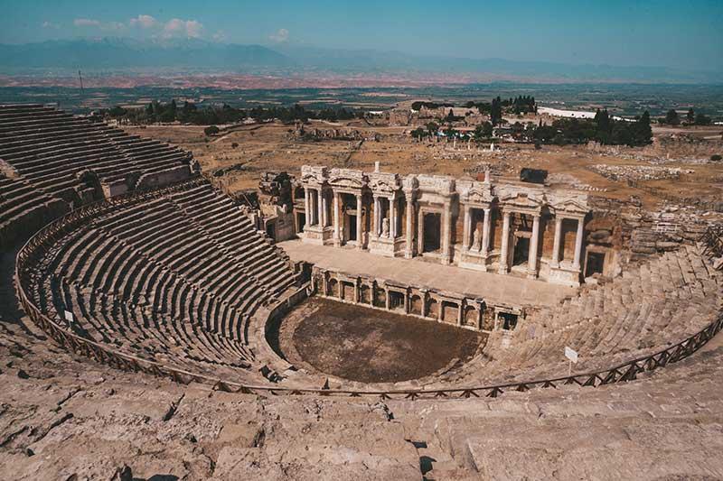 Hierapolis, Pamakkule
