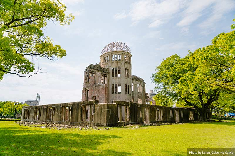 Хиросима Купол Япония 10 лучших мест для посещения в Японии Hiroshima Dome