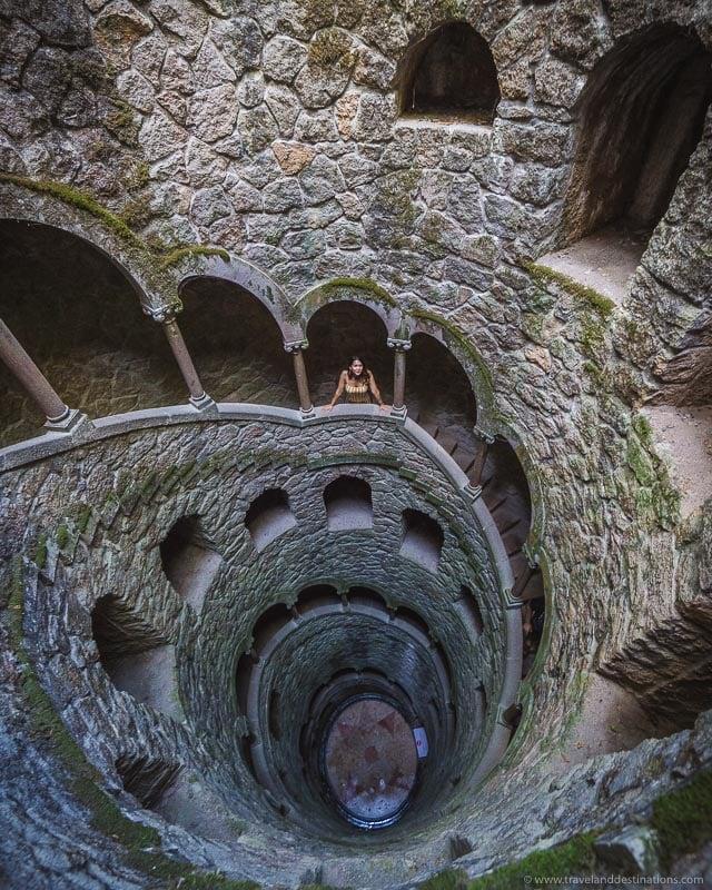 Initiation Well at Quinta da Regaleira, Sintra