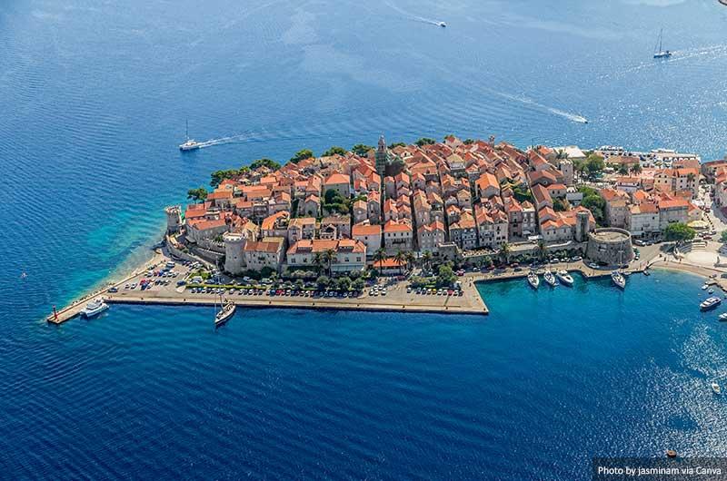Корчула старый город посещения в Хорватии 10 лучших мест для посещения в Хорватии Korcula old town