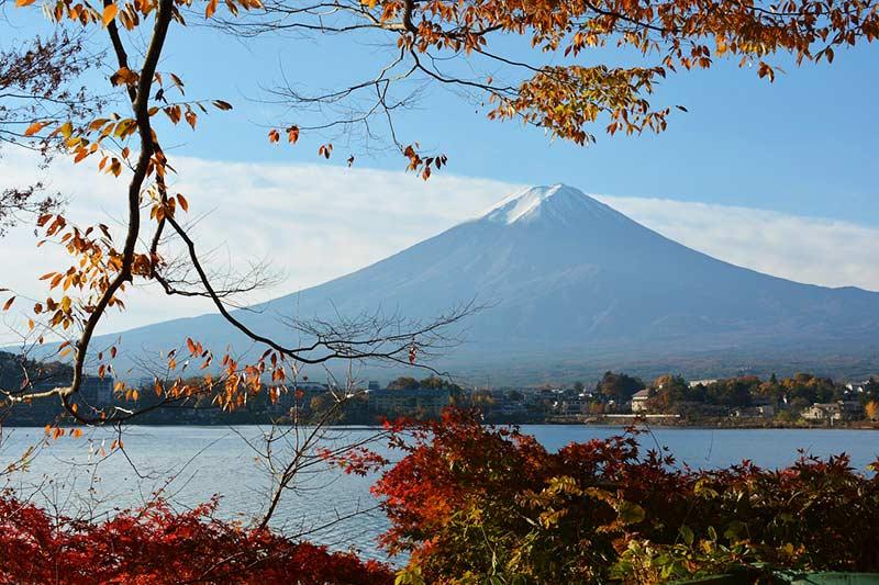 Озеро Кавагути Япония 10 лучших мест для посещения в Японии Lake Kawaguchi