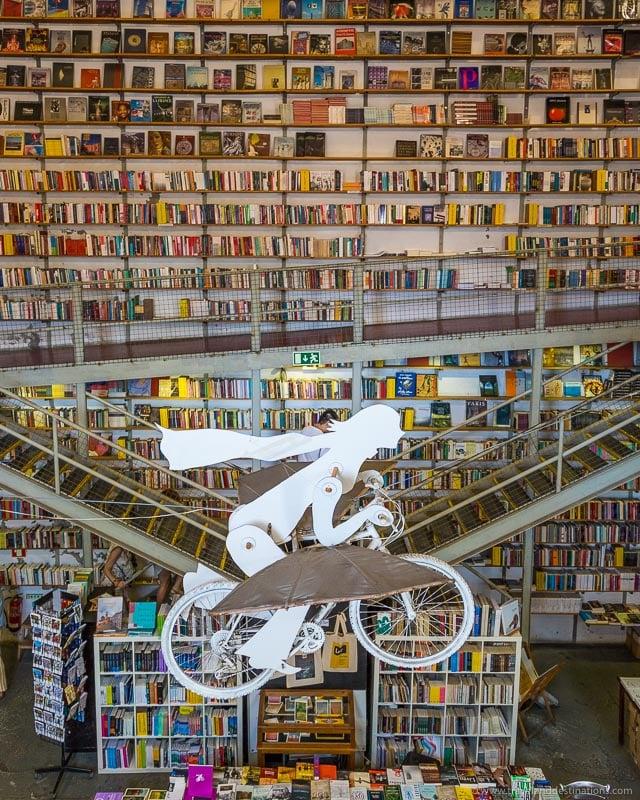 Ler Devagar book store in Lisbon - Instagram spot