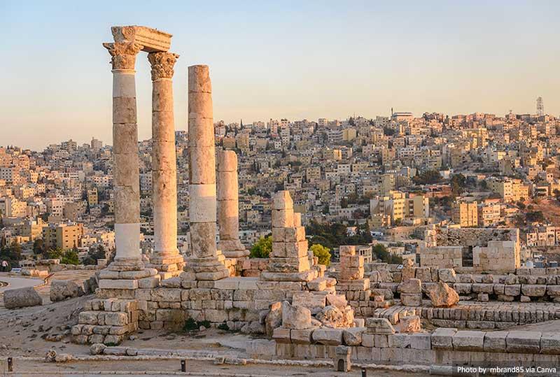 Amman Jordan and Roman Ruins