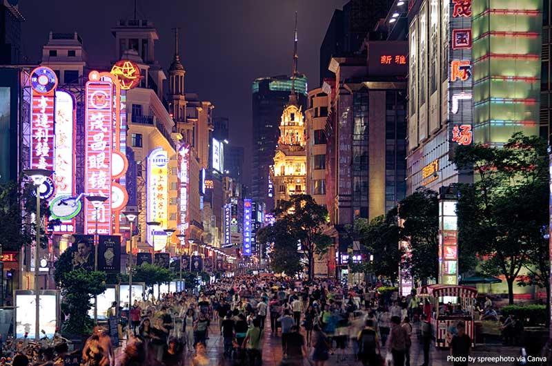 Нанкин роуд Шанхай шанхай китай 10 лучших вещей, которые стоит увидеть и сделать в Шанхае (Китай) Nanjing road shanghai
