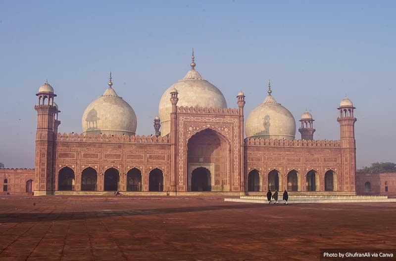 Мечеть Бадшахи, Лахор Достопримечательности Пакистана