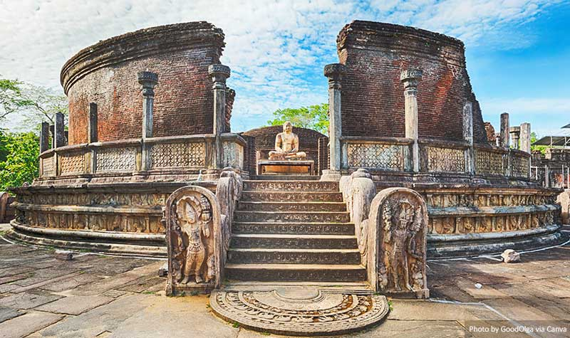 The Polonnaruwa Vatadage