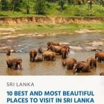 10 Best and Most Beautiful Places to Visit in Sri Lanka
