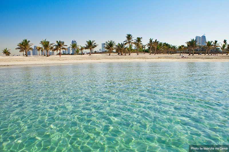 Belle plage  10 choses à savoir pour visiter les Emirats Arabes Unis Beautiful Beach UAE