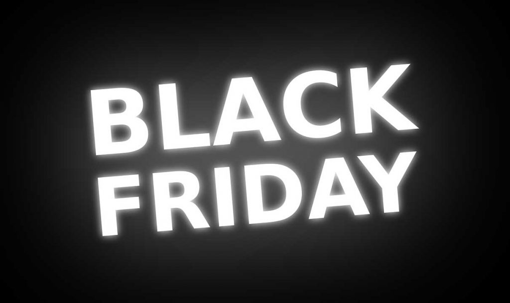 Black Friday - Text and Banner