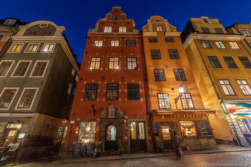 Classic architecture at Stortorget
