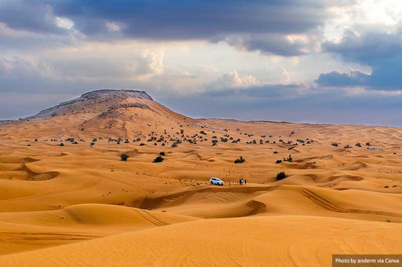 Desert in United Arab Emirates