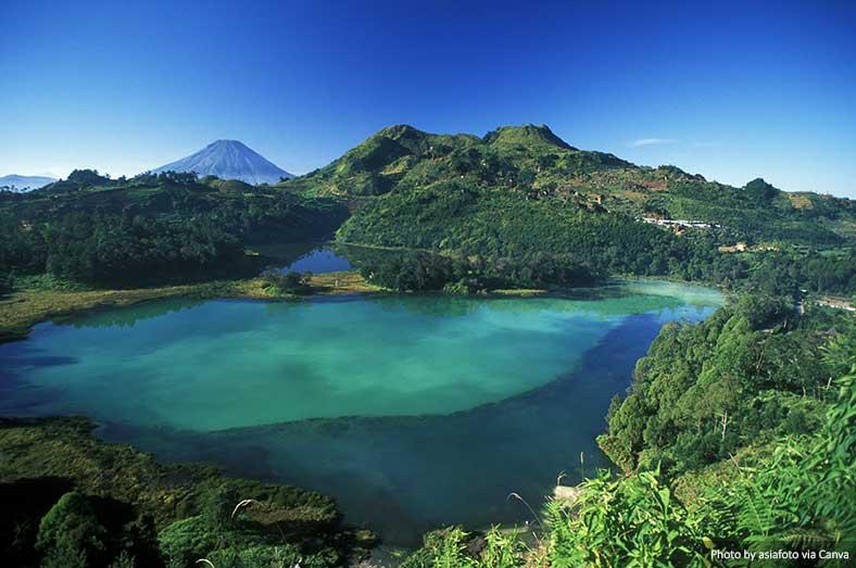 Плато Дьенг, Ява, Индонезия можно увидеть на Яве 5 Невероятные природные чудеса, которые можно увидеть на Яве, Индонезия Dieng Plateau Java Indonesia