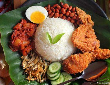 Nasi lemak meal