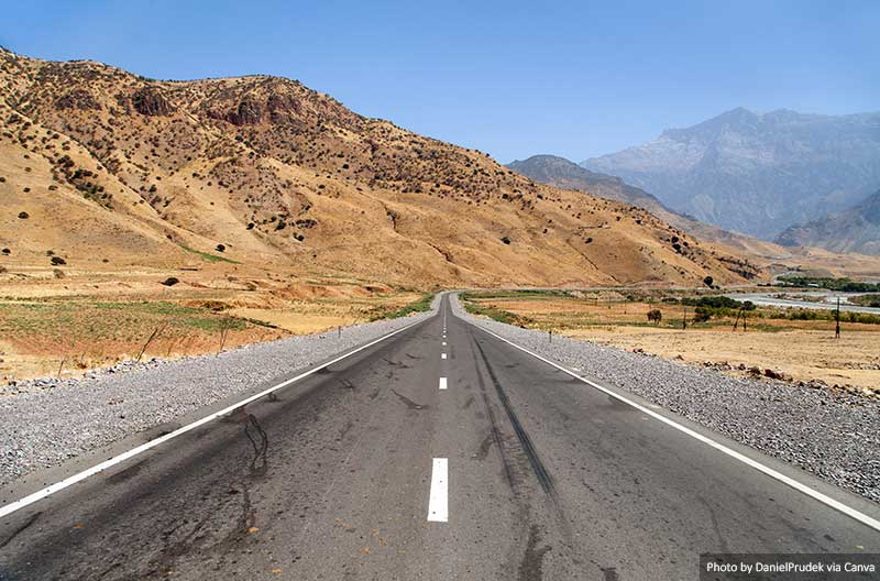 Route du Pamir  10 meilleurs endroits à visiter au Tadjikistan Pamir highway