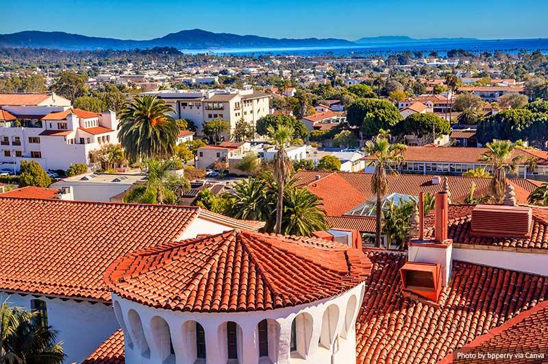 Санта Барбара Автопутешествие по Калифорнийскому побережью Автопутешествие по Калифорнийскому побережью Santa Barbara