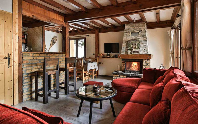 Self-Catered Chalet St Moritz in La Plagne