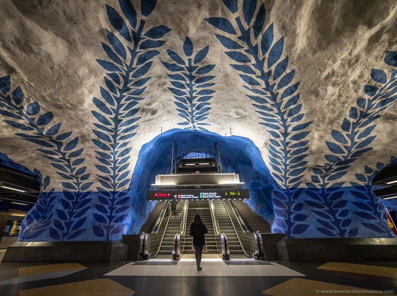 T-Centralen subway station in Stockholm
