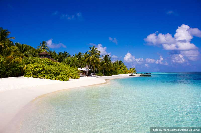 Veligandu Island in the Maldives