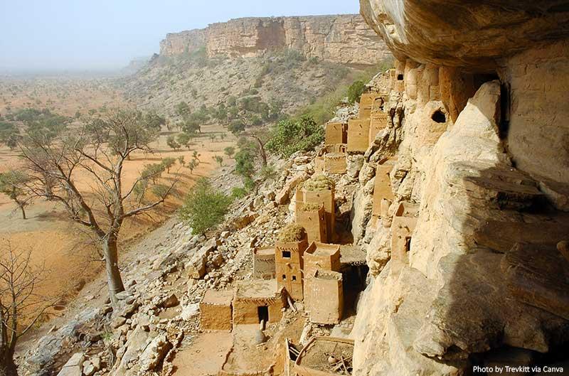 Bandiagara clff, Mali