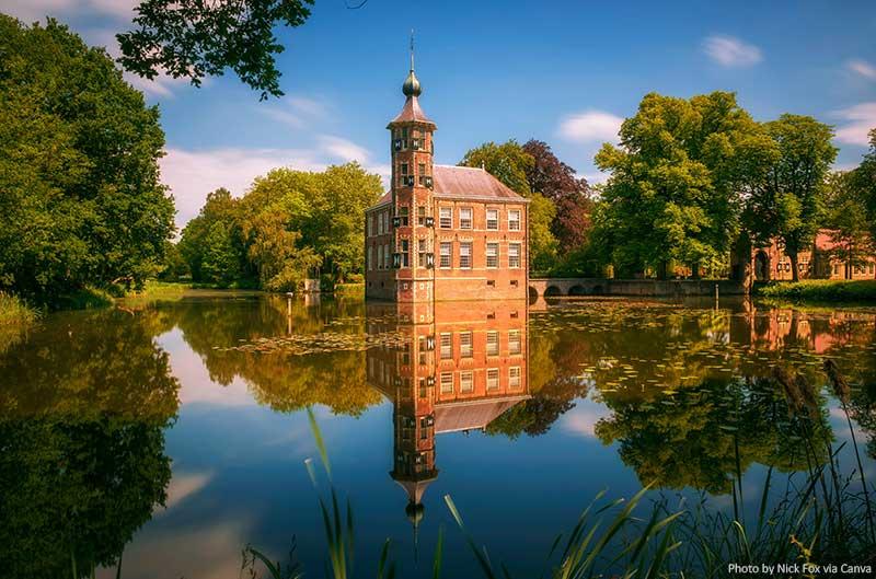 Castle Bouvigne and the Surrounding Park in Breda