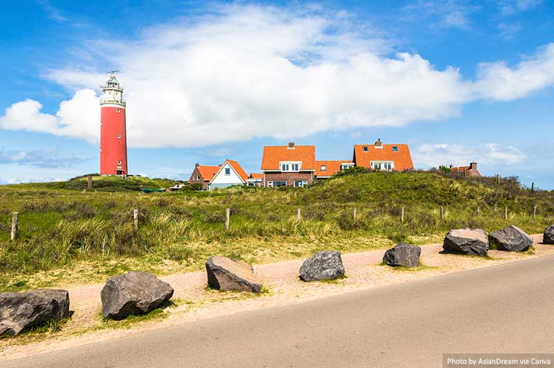 Lighthouse on Texel island