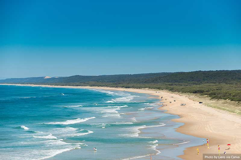 North Stradbroke Island, Queensland