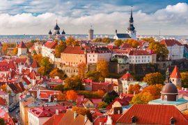 Tallinn, Estonia in the Baltics